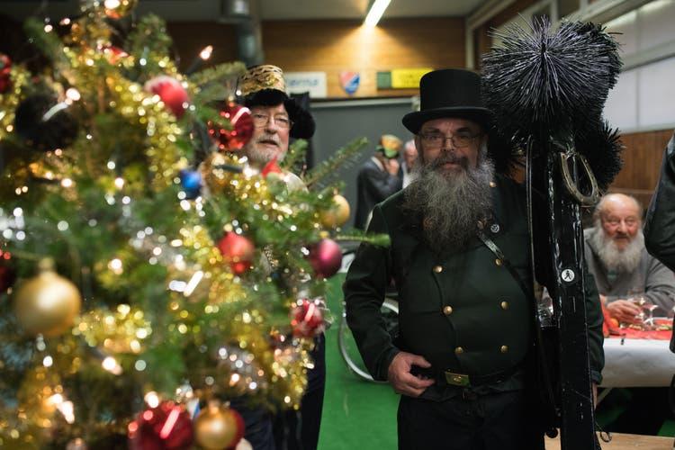 Weihnachten Feiern.Wenn Stadtoriginale Weihnachten Feiern Luzerner Zeitung