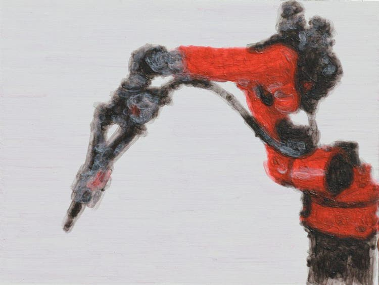 Ein Roboter Malt Kunst Stgaller Tagblatt