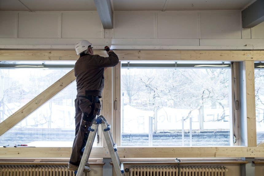 Dieser Raum ist gemäss der Stadt Luzern einsturzgefährdet. (Bild: Manuela Jans-Koch, 9. Januar 2019)