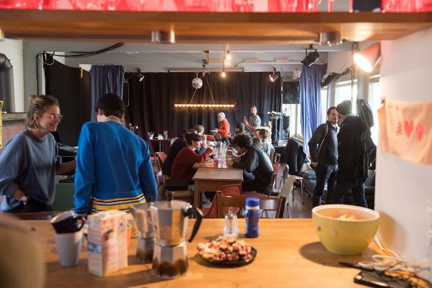 Offener Mittagstisch im Eichwäldli. (Bild: Boris Bürgisser, 13. Dezember 2018)