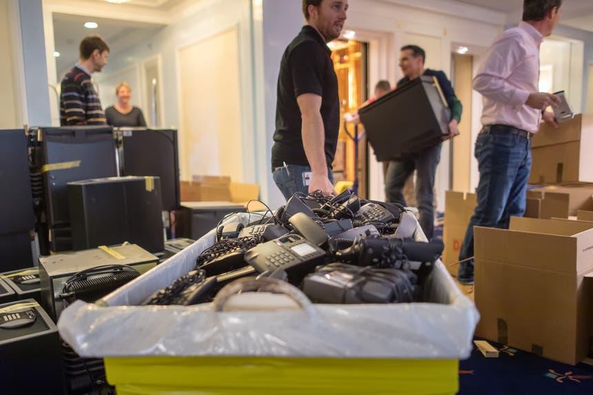 An einem Ort im Hotel wurde sogar Geld gefunden. (Bilder: Michel Canonica)