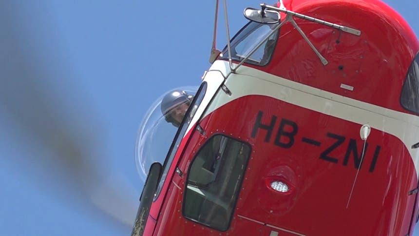 ...speziellen Vorrichtung, kann der Pilot die Masten... (Bild: Raphael Rohner)