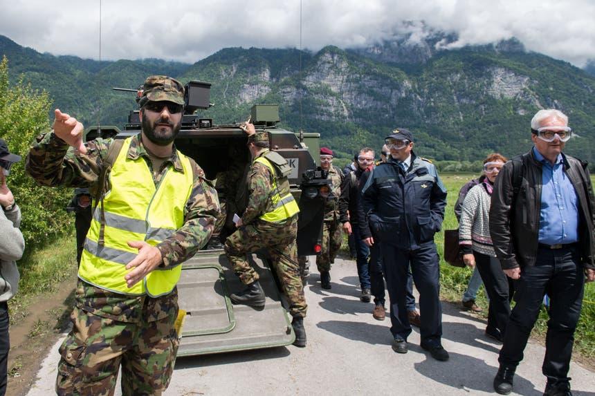 Chef-Regisseur Simon Bieri betreut die Delegation aus Luzern und Nidwalden. (Bild: Eveline Beerkircher, Walenstadt, 12. Juni 2019)