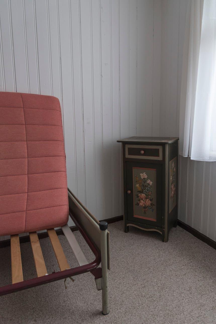 Renovierungsbedürftiges Zimmer.