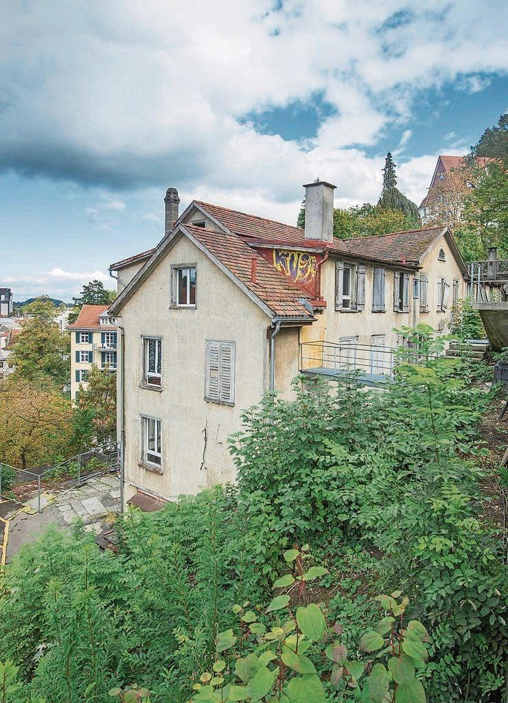 Bis Im Juni 2017 Soll Am Mühlensteg 8 Ein Studentenwohnhaus Mit Platz Für  Rund 46 Personen